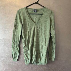 Green XS Grey Sweater